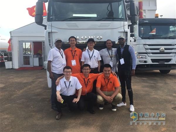 中国重汽驻南非团队