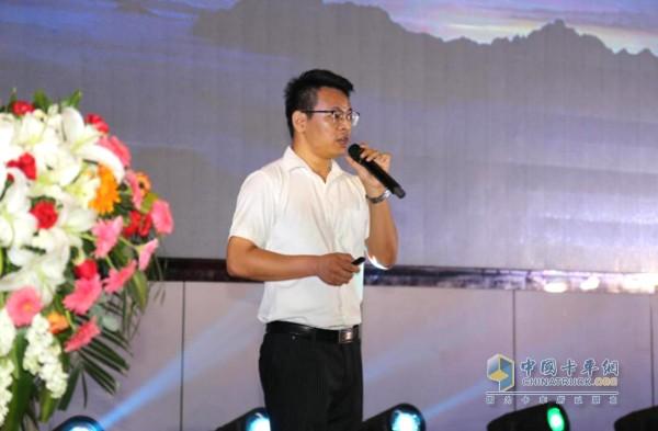 一汽解放汽车销售有限公司安徽商代处 营销主管 贾鹏飞先生