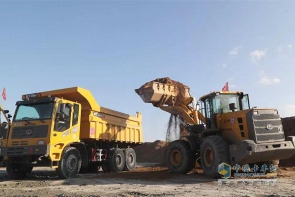 配套矿区装载机的潍柴WP10发动机