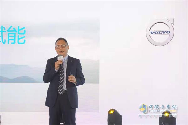 沃尔沃卡车中国区用户方案总监杨光喜