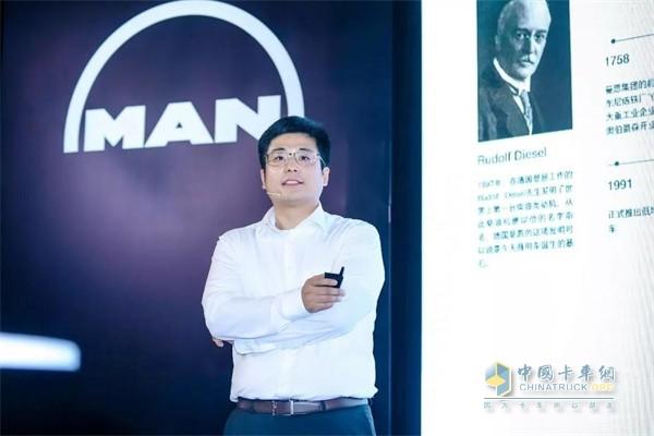 曼恩亚太区首席财务官马志彦先生