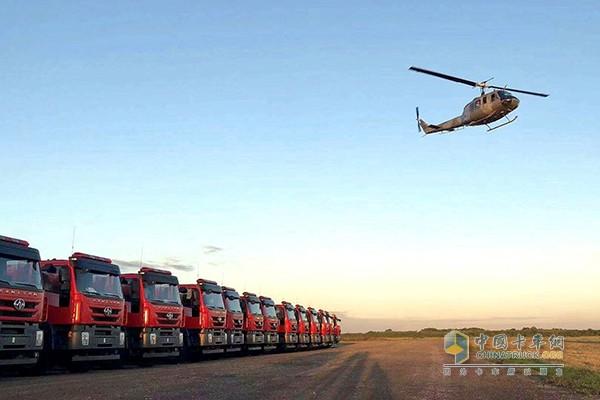 凭实力圈粉 上汽红岩消防车亮相首届国际警用和消防装备博览会
