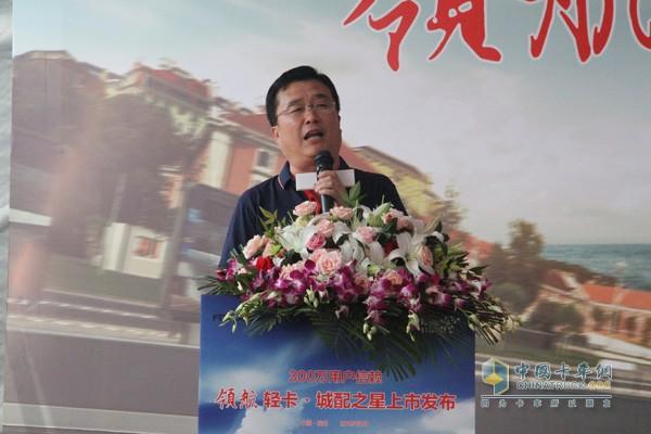 时代汽车营销公司销售副总经理王小凯