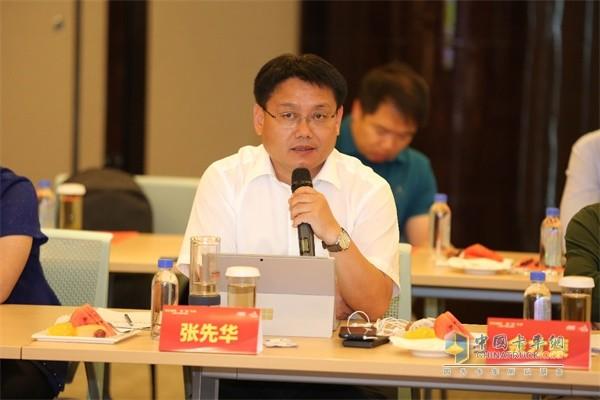 江淮汽车轻型商用车营销公司总经理张先华