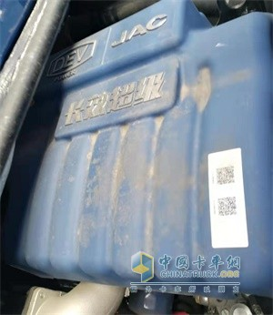 江淮康铃J6匹配了4缸直列云内德威D25发动机