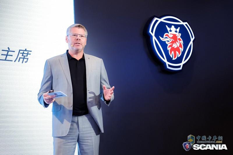 斯堪尼亚中国售前总监Mike Janssen(杨森)