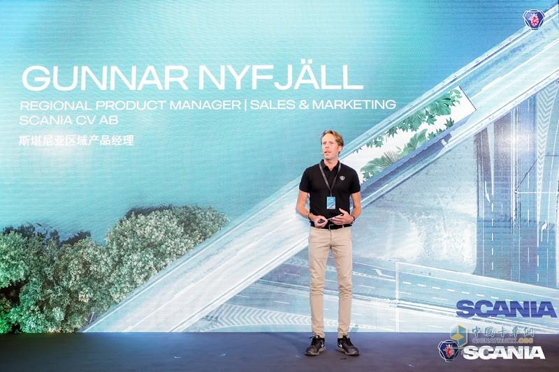 斯堪尼亚区域产品经理Gunnar Nyfjäll