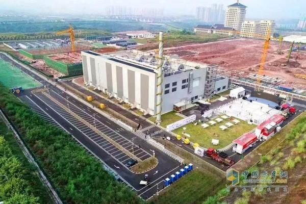 重庆康明斯技术中心工厂俯视图