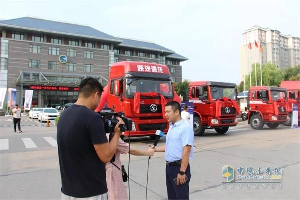 陕重汽载货车项目组项目经理汪翔