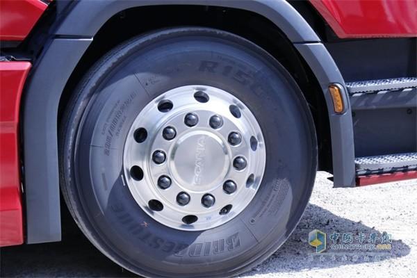 斯堪尼亚S500铝合金轮圈