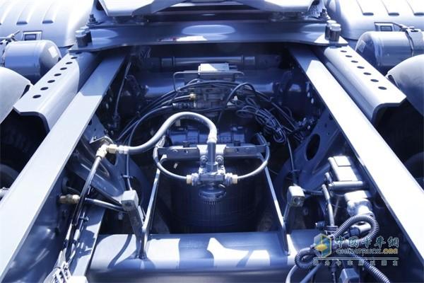 斯堪尼亚S500底盘线束