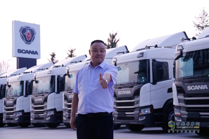 济南永昌物流有限公司董事长吴明永