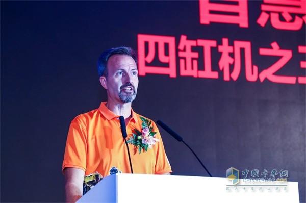 康明斯发动机专家、福田康明斯工厂厂长Miguel Kindler