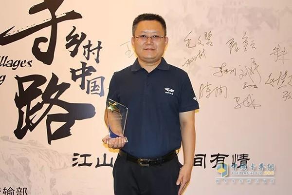 福田时代汽车传播副总经理李怀福