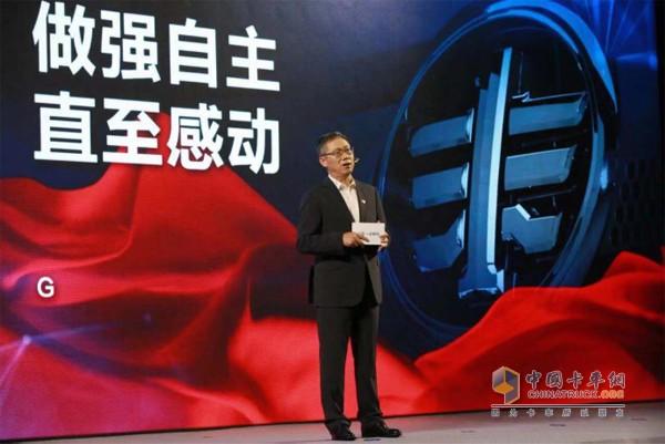 中国一汽总经理助理、一汽解放董事长、党委书记胡汉杰先生