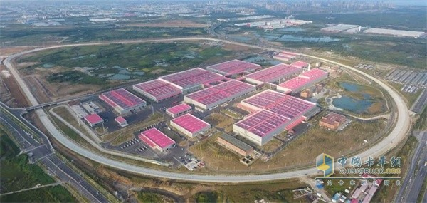 江淮轻卡JAC新港基地打造了世界轻卡行业首个智能制造平台