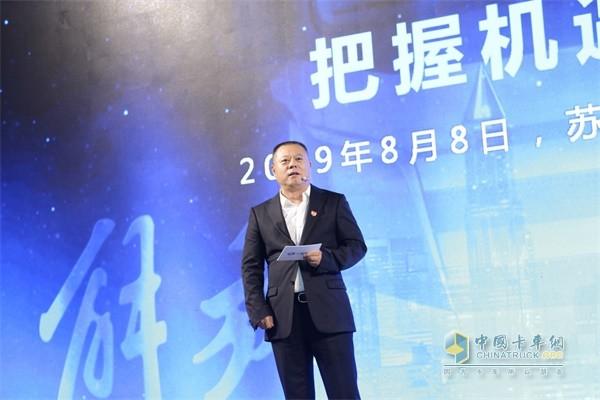 一汽解放苏州挚途科技有限公司CEO杜一光