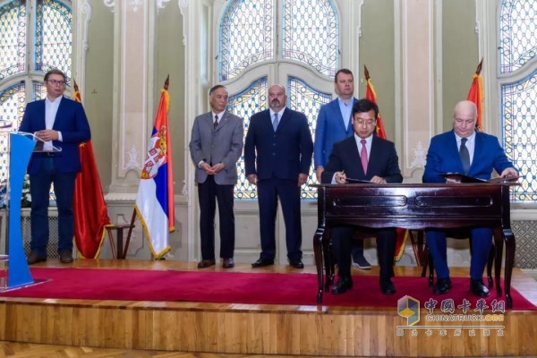 2018年8月,玲珑轮胎与塞尔维亚签署投资备忘录