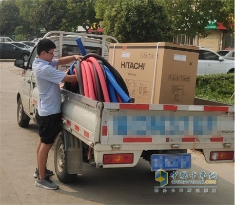 福田祥菱安装空调也需要大容量货厢