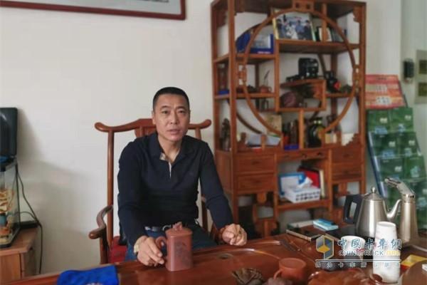 锦城物流有限公司总经理 王会军