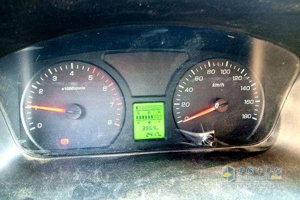 杨姐的祥菱商务之星两个月跑了2417公里