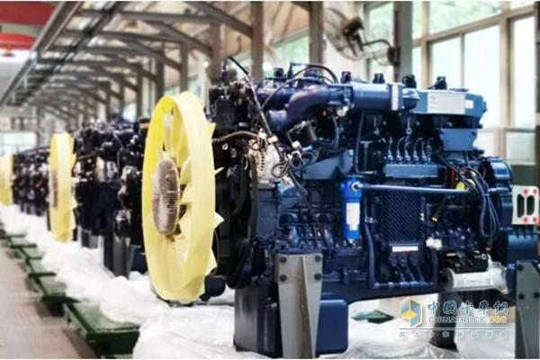 潍柴国六WP13NG天然气发动机