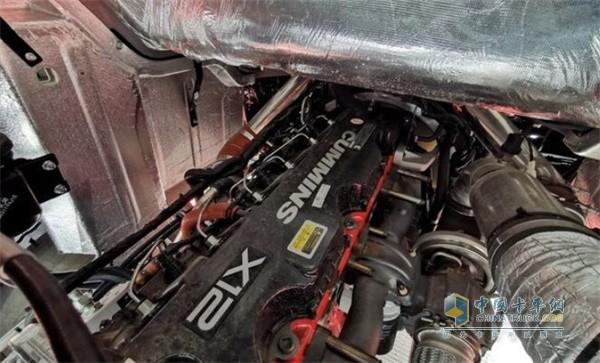 2020款江淮格尔发K5搭载康明斯X12发动机