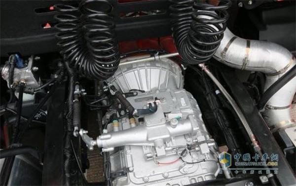 2020款江淮格尔发K5搭载法士特12挡变速箱