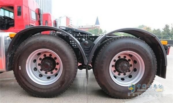 2020款江淮格尔发K5万力12R22.5轮胎