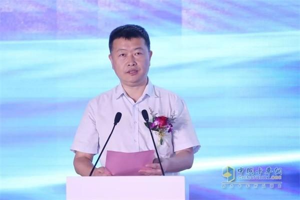 福田汽车集团副总裁、欧马可事业部总裁顾德华先生为活动致辞