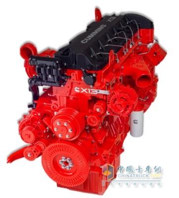 欧曼EST 560马力超级重卡配装福田康明斯X13动力整车燃油转化率更高