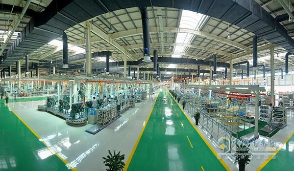 惠山基地智能化生产线