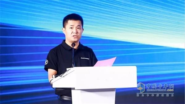 欧马可事业部常务副总裁、营销公司总经理唐宏超致辞