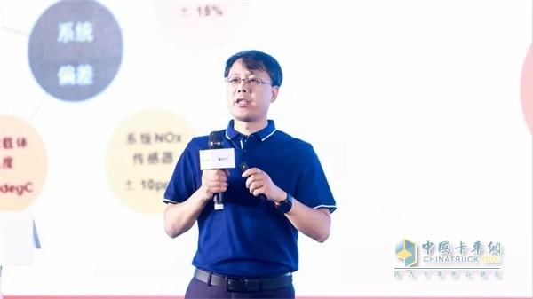福田康明斯轻型发动机总工程师张明广介绍F系列发动机