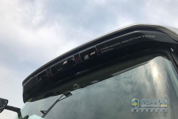 福田戴姆勒欧曼EST-A自动驾驶重卡