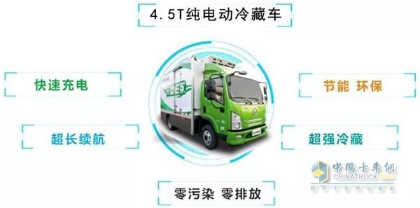 4.5T純電動冷藏車