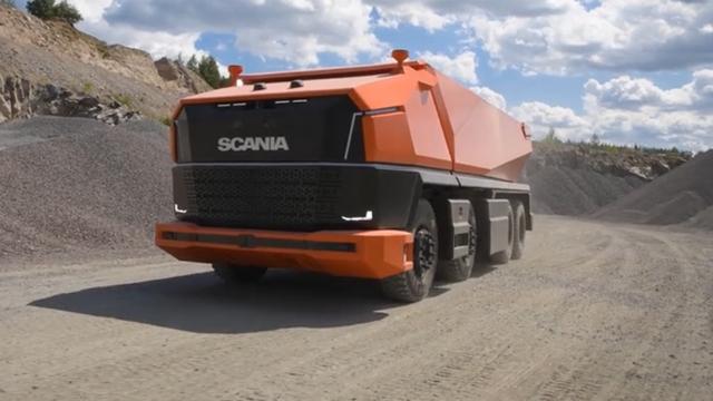 真正的无人驾驶 斯堪尼亚AXL概念车抢先看
