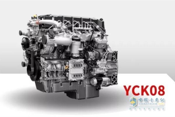 玉柴YCK08国六发动机