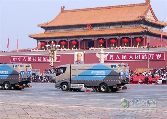 能为新中国70周年盛典提供服务,比亚迪T8不骄傲谁骄傲!