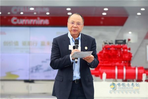 康明斯公司副总裁刘晓星