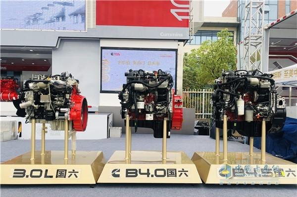 安康发布三款国六动力产品