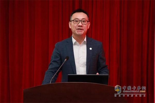 北奔重卡狮桥融资租赁公司董事长兼CEO万钧
