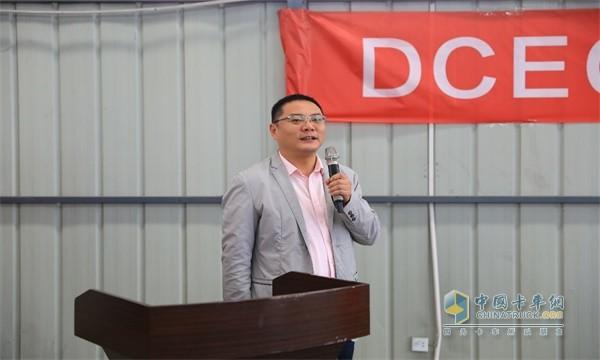 东风商用车服务部副部长李连志