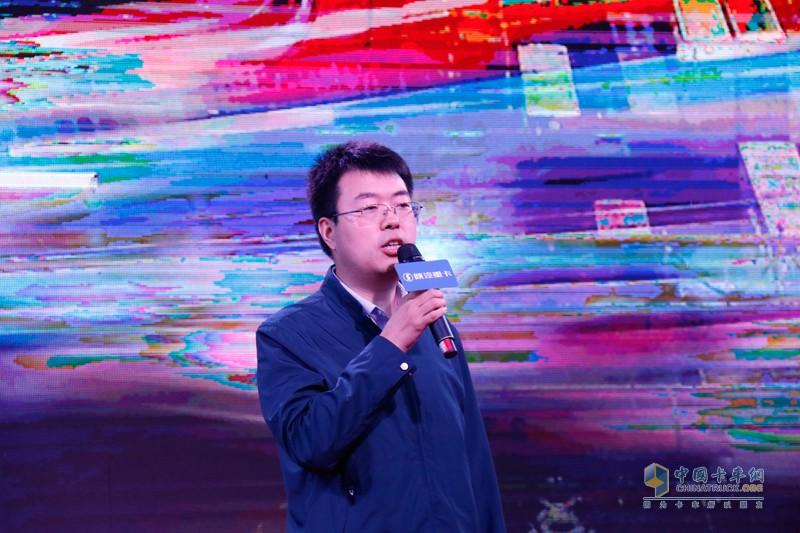 陕重汽销售公司市场部经理秦少辉