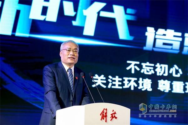 一汽解放总经理助理 、产品管理部部长赵国清