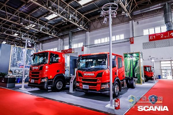 斯堪尼亚全新一代消防车专用底盘