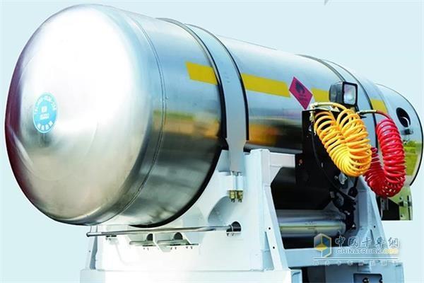 大运汽车LNG国六产品采用的高品质LNG气罐