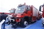 引领消防车发展 奔驰多类型消防车亮相第十八届消防展