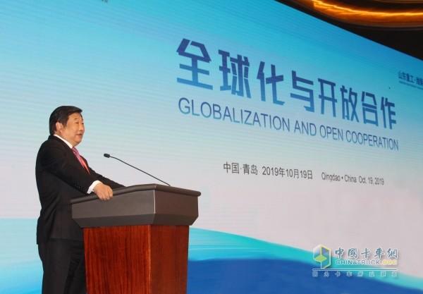 全球化与开放合作,潍柴既要抓机遇也要做准备