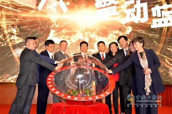 东风商用车全系国六登陆北京上市,现场签下638台订单佳绩